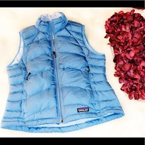 PATAGONIA Blue Down Puffer Vest